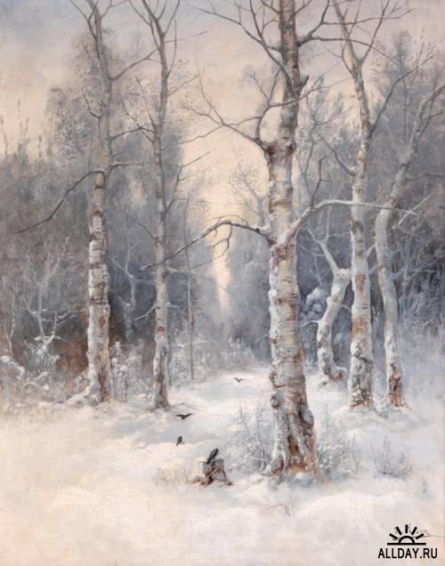 Российский и латвийский художник Карл Розен (1864 - 1934)
