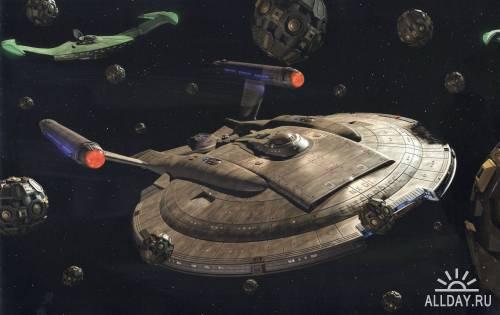 Star Trek - Ships Of The Line