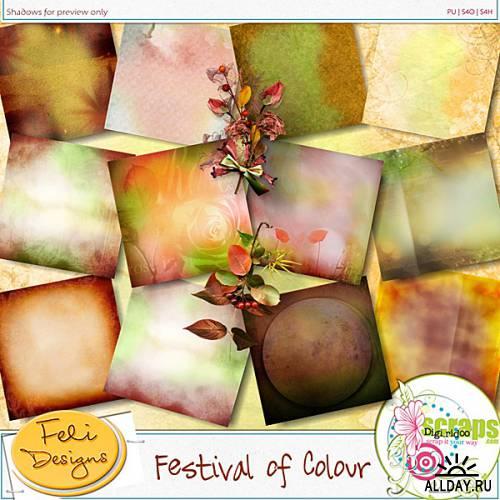 Скрап-набор Festival Of Colour