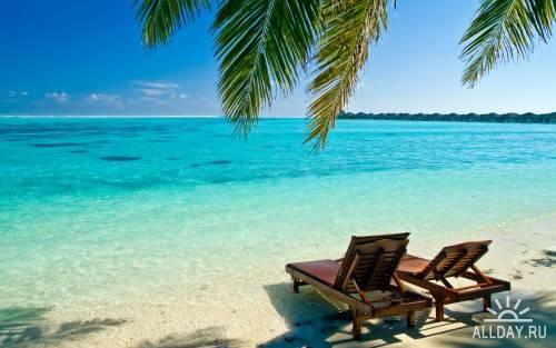 Пляжи – обои на рабочий стол