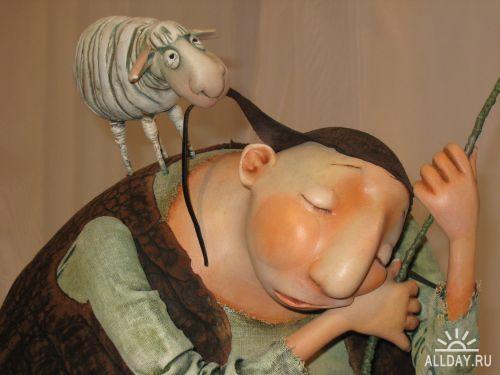 Куклы. Керамика