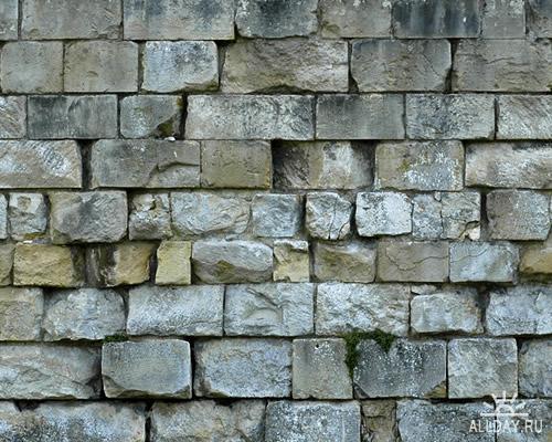 Текстуры - Стены средневековые. Часть 7