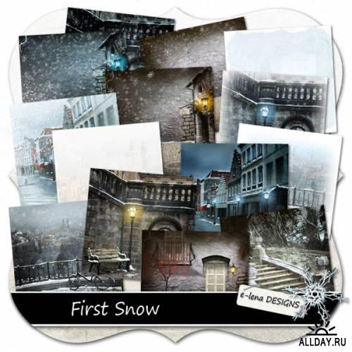 Скрап-набор First Snow