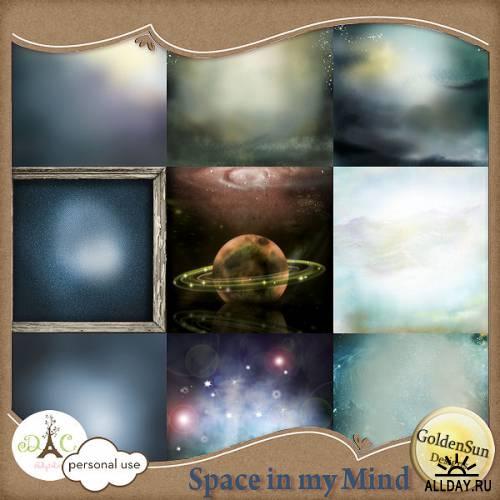 Скрап-набор Space in my mind