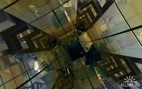 Картинки с трехмерной графикой для фона рабочего стола 44