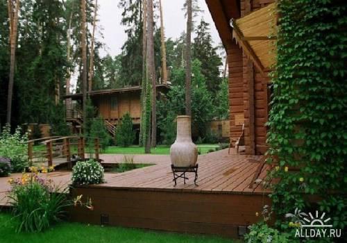 Фотографии ландшафтного дизайна и строений №2  - (2011)  JPG