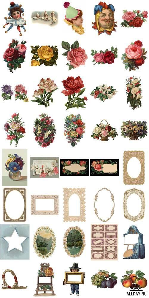 Visual Language 11 Victorian Scrapbook Treasures