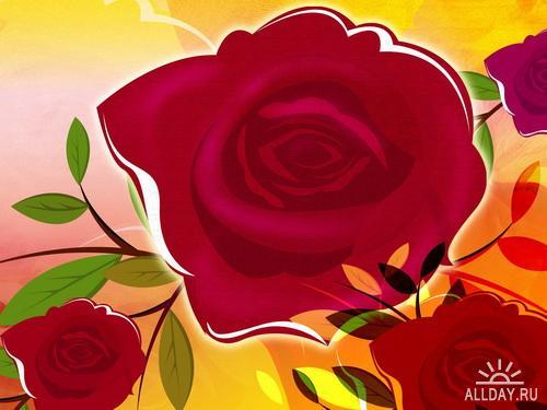 Design art flower artistic flower illustration