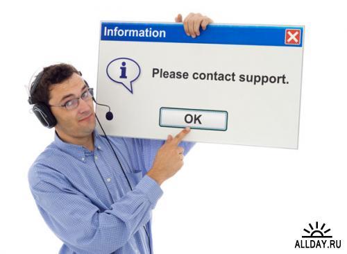 People support   Техподдержка - качественный стоковый клипарт