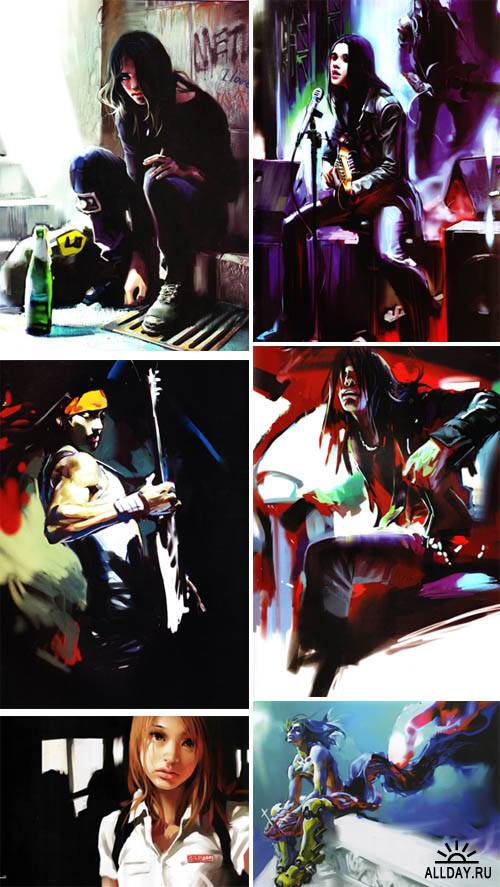 Artworks by Benjamin Zhang Bin