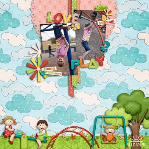 Scrap kit  Playground