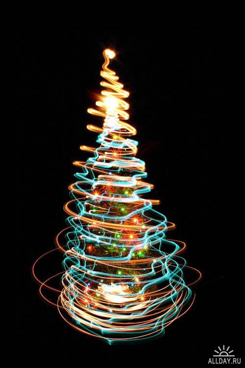 Abstract Christmas tree. Set.13   Абстрактная новогодняя елка. Вып.13