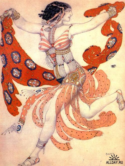 Картины Льва Бакста