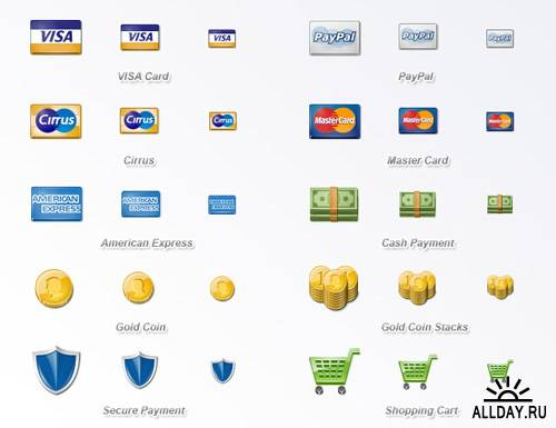 Stock Icons - Money & Credit Cards