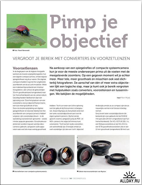 Focus - December 2011/Netherlands