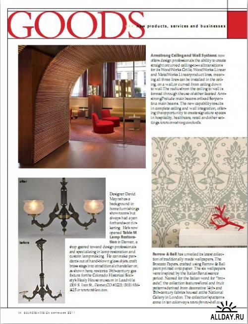Sources + Design - September 2011