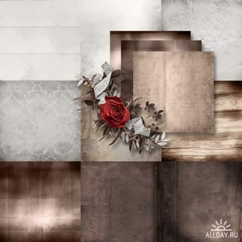 Scrap kit Roses are