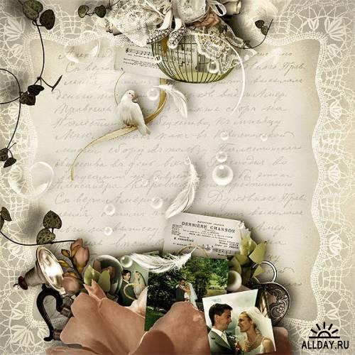 Скрап-набор Marriage d' Antan