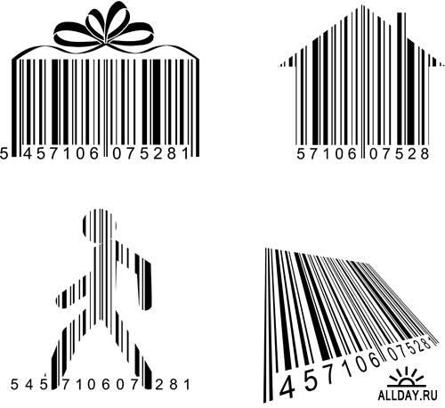 Дизайн штрихкодов в векторе | Barcode design - Stock Vectors