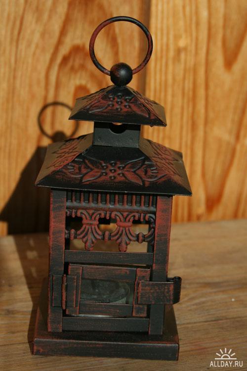 Фотоклипарт - lantern package