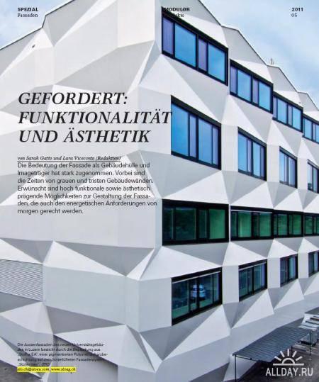 Modulor Magazine - August 2011