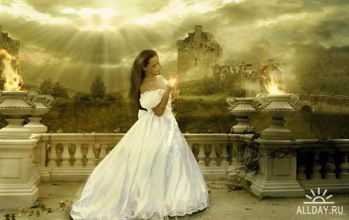 Photo manipulation (Fantasy Girls)
