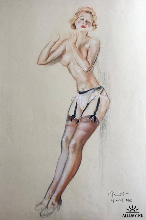 Забытые иллюстраторы - Pierre-Laurent Brenot