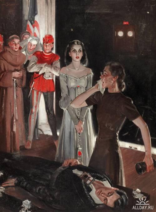 Забытые иллюстраторы - August Bleser