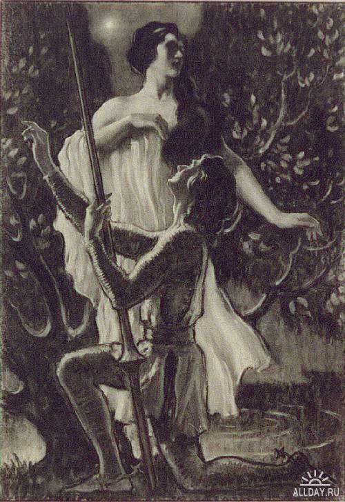 American illustrator Frank Walter Taylor (1874-1921)