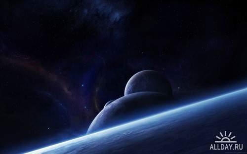 Интересные обои на рабочий стол на тему: космос