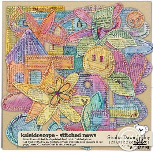Скрап-набор Kaleidoscope Collection