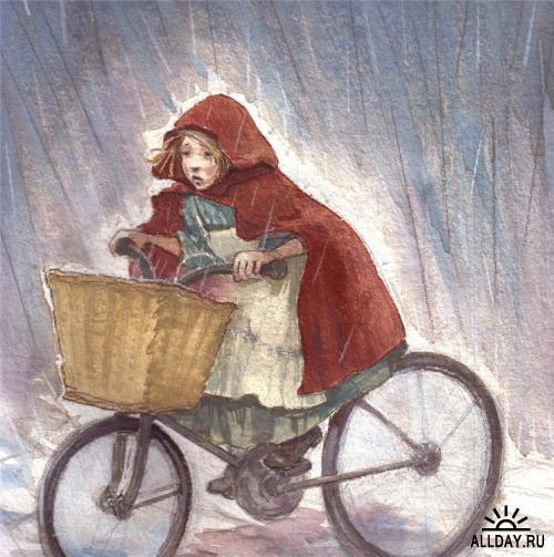 Акварельные иллюстрации Amy June Bates