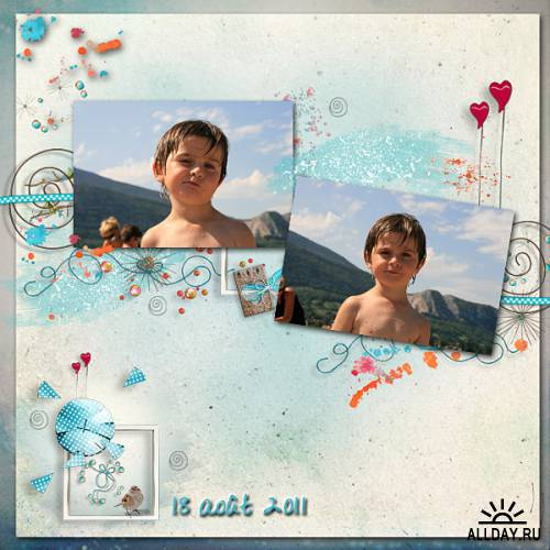 Scrap kit  Make Joyful Memories