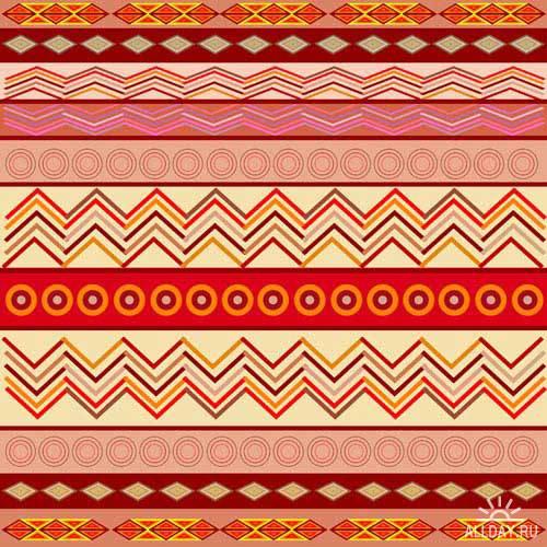 Этнический паттерн   Ethnic pattern