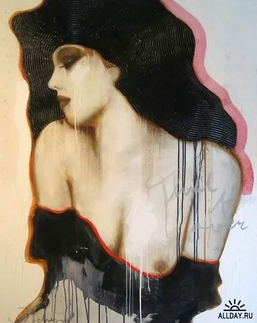 Голландский художник Hans Jochem Bakker (Ханс Джохем Баккер)