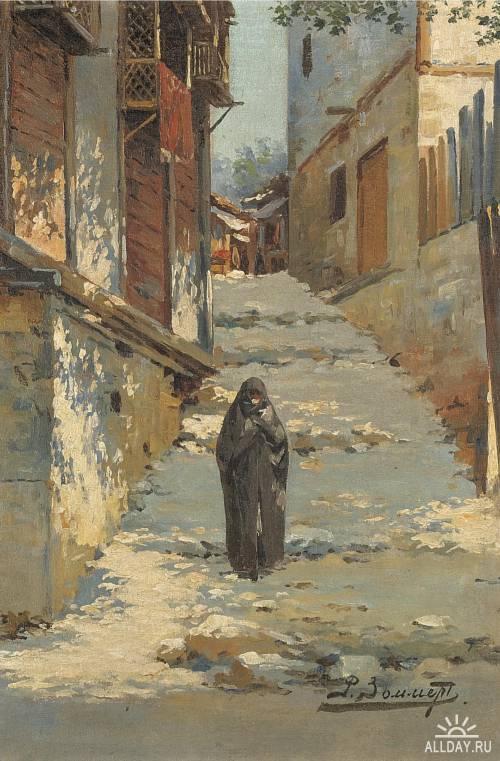 Русский живописец Рихард-Карл Карлович Зоммер (1866 — 1939)
