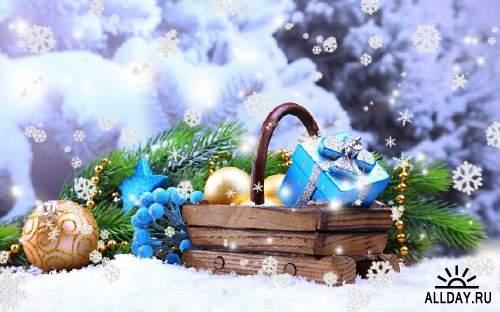 Сборник картинок и фото к новогодними праздникам 11
