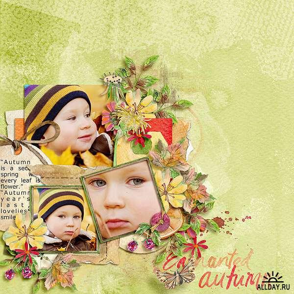 Скрап-набор Enchanted Autumn - Волшебная Осень