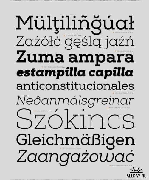 Nexa Slab Font