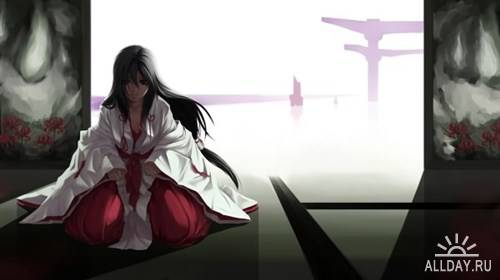 Коллекция картинок - Обои в стиле аниме выпуск 3