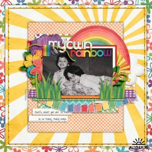Scrapkit - Rainbow Connection