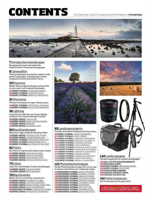 The Essential Guide to Landscape Photography 5nd Edition, 2014