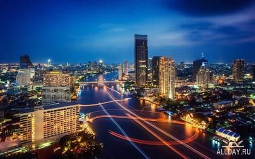 Фото архитектуры крупных городов мира на фон рабочего стола 6