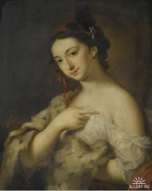 Итальянский художник Rosalba Carriera (1675-1757)