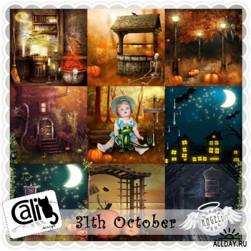 Скрап-набор - 31th October
