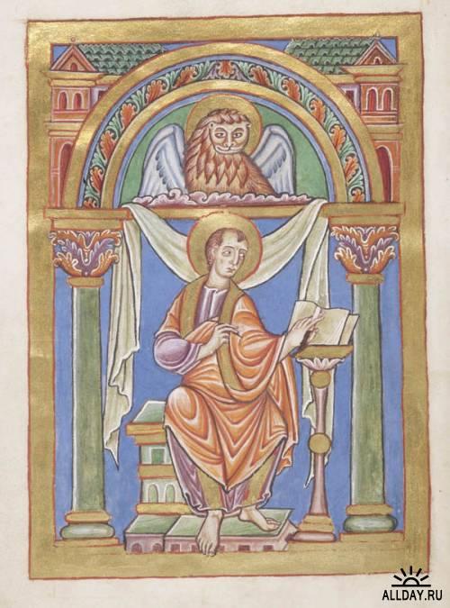 Illuminated Manuscripts. Англия, Франция, Германия, Средиземноморье XI в