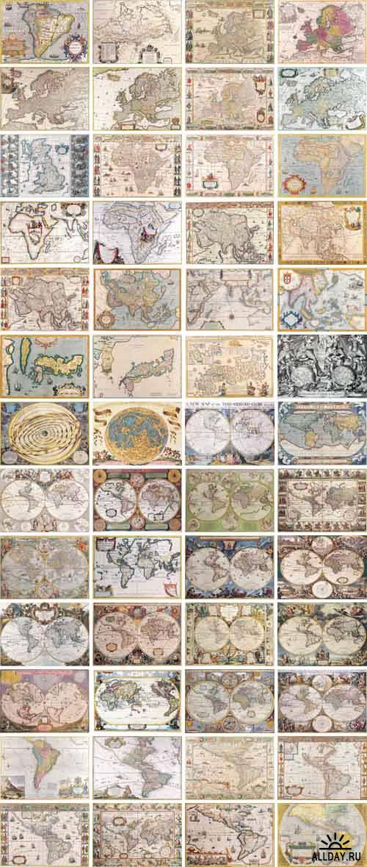Digital Vision - Antique Maps
