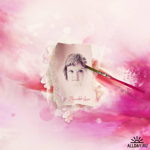 Скрап-набор Painted love