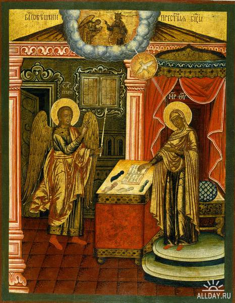 Иконопись эпохи династии Романовых.