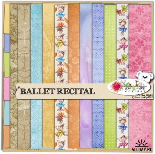 Скрап-набор Ballet Recital